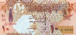Qatar 10 Riyals, P-30 (2008) - UNC - Qatar