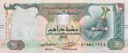 United Arab Emirates 10 Dirham, P-27 (2015) - UNC - Ver. Arab. Emirate