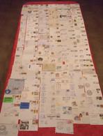 TC19 / RARE Collection  De 235 Enveloppes Oblitérées Ayant Voyagées Thème Polaire Divers Monde (nombreuses Thématiques ) - Polar Philately