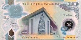 Papua New Guinea 10 Kina, P-30a (2008) - UNC - Papua-Neuguinea