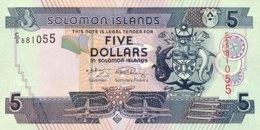 Solomon Islands 5 Dollars, P-26 (2006) - UNC - Salomons