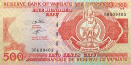 Vanuatu 500 Vatu, P-5b (1993) - UNC - Vanuatu