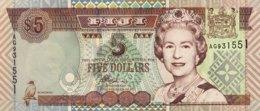 Fiji 5 Dollars, P-105b (2002) - UNC - Fidji