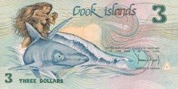 Cook Islands 3 Dollars, P-3 (1987) - UNC - Cook