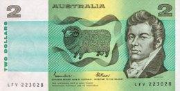 Australia 2 Dollar, P-43e (1985) - UNC - 1974-94 Australia Reserve Bank