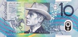 Australia 10 Dollar, P-58e (2008) - UNC - Emissions Gouvernementales Décimales 1966-...