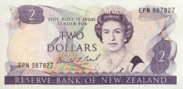 New Zealand 2 Dollar, P-170c - UNC - Neuseeland