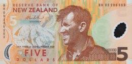 New Zealand 5 Dollar, P-185b (2005) - UNC - New Zealand