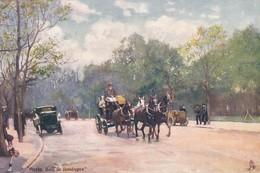 OILETTE  BOIS DE BOULOGNE Série 651  N°29  ........... Bois De Boulogne ........ Un Mot à La Poste - Tuck, Raphael