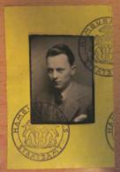 Allemagne, IIIe Reich - Carte D'identité (Ausweis) D'Erik Braadland Ministre Norvégien Au Consulat D'Hambourg En 1936 - Documents Historiques