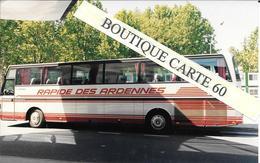 BUS AUTOBUS AUTOCAR - PHOTO 15X 9,5 – RAPIDE ES ARDENNES PERLE AU NORD LUXEMBOURG ?? (N°105) - Buses & Coaches