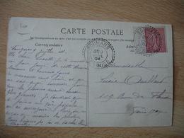 Soumans1904  Cachet Perle Facteur Boitier Obliteration Sur Lettre - Marcophilie (Lettres)
