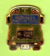 Pin's Mac Do McDonald's Bus Autobus - 2CC01 - McDonald's
