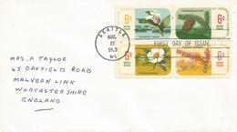 USA 1969 Seattle Botanical Congress Flowers Conifer FDC Cover - Eerste Uitgaves (FDC)