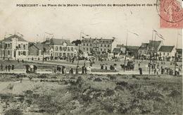 Pornichet (115), Inauguration Du Groupe Scolaire Et Des Postes.,  Très Jolie Carte Très Animée - Pornichet