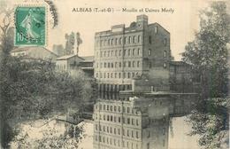 82 ALBIAS  Moulin Et Usines Merly 2scans - Albias