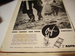 ANCIENNE AFFICHE  PUBLICITE CHASSE ASPRO 1960 - Autres