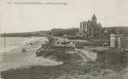 Pornichet (118), SAINTE-MARGUERITE - L'Hôtel Et La Plage, Jolie Carte - Pornichet