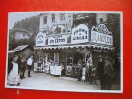 REPRINT!!!-PONATIS!!!Zelezniska Postaja Na Jesenicah Pred II.svetovno Vojno.Railway Station. - Slowenien