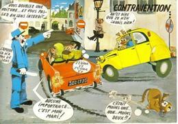 CPM - HUMOUR - ILLUSTRATION LY - Thème Voiture (Citroën 2CV) - Edition As De Coeur - Humor