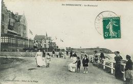 Pornichet (120), Ste-MARGUERITE - Le Boulevard, Jolie Carte Superbement Animée - Pornichet