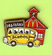 Pin's Mac Do McDonald's Bus Autobus Scolaire Las Vegas - 2CC13 - McDonald's
