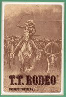 TT RODEO ENTREPOT WESTERN * COW BOY * AUTOCOLLANT A606 * - Autocollants