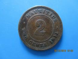 ÎLE MAURICE 2 Cents Georges V 1911, TTB - Mauritius