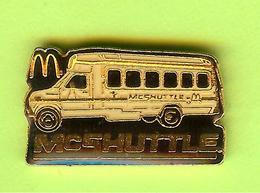 Pin's Mac Do McDonald's Bus Autobus Navette - 2CC17 - McDonald's
