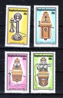 Bophuthatswana - 1983. Apparecchi Telefonici Antichi. Antique Telephone Devices. MNH Complete Set - Telecom