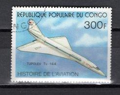 CONGO   N° 475  OBLITERE  COTE  1.00€  AVION  CONCORDE - Congo - Brazzaville