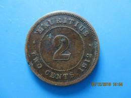 ÎLE MAURICE 2 Cent Georges V 1912, TB - Mauricio
