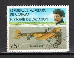 CONGO   N° 472  OBLITERE  COTE  0.30€  AVION  LOUIS BLERIOT - Congo - Brazzaville