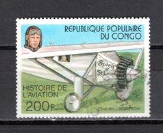 CONGO   N° 474  OBLITERE  COTE  0.80€  AVION - Congo - Brazzaville