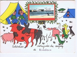 CHARENTE-MARITIME - Salutations Distinguées Du Campins De RIVEDOUX - Autres Communes