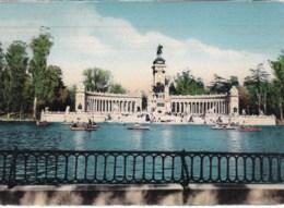 Alfonso XII Monument In Retiro Park, Madrid, Spain - Unused - Madrid