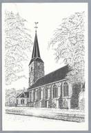 NL.- MAASLAND. Ned. Hervormde Kerk. TEKENING J. SINKE, KRUININGEN - Schone Kunsten