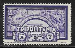 Tripolitania, Scott # C22 Mint Hinged Arch, 1933 - Tripolitania