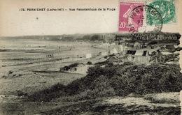 Pornichet (133), Vue Panomarique De La Plage, Jolie Carte - Pornichet