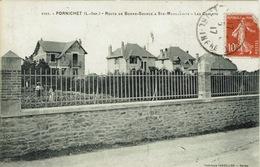 Pornichet (134), Route De Bonne-Source à Ste-Marguerite-Les Chalets, Jolie Carte, Infime Trace De Pli - Pornichet