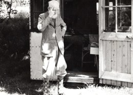 Ayot St Lawrence Ecrivain George Bernard Shaw Chez Lui Ancienne Photo 1946 - Berühmtheiten