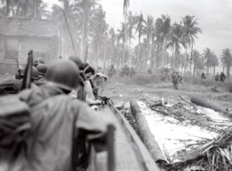WWII Los Negros Soldats Americains Dans La Jungle Ancienne Photo Tom Shafer 1944 - War, Military