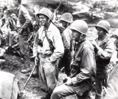 Japon Okinawa Lemuel Shepherd Simon Bolivar Buckner Ancienne Photo Juin 1945 - War, Military