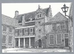 NL.- DORDRECHT. Het Hof Van Dordrecht. Teus Reclamestudio. - Schone Kunsten