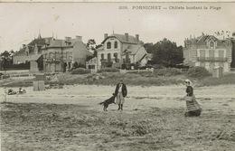 Pornichet (140), Châlets Bordant La Plage, Jolie Carte - Pornichet