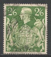 Great Britain 1942. Scott #249A (U) King George VI And Royla Arms * - Oblitérés