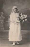 8130. Vecchia Old Photo Foto Bambina Child Foto Scagliola  Novi Ligure 5 Maggio 1929  13x8 - Personnes Identifiées