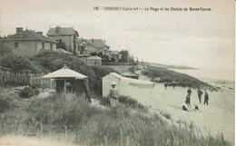 Pornichet (148), La Plage Et Les Chalets De Bonne-Source, Jolie Carte - Pornichet
