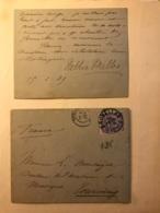 Lettre Autographe De 1889 De Nellie Melba Cantatrice De L'Opéra + Coupures Journaux + Portraits- Collection Chenu Amiens - Autografi