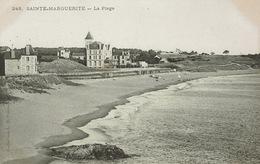 Pornichet (154), SAINTE-MARGUERITE - La Plage, Jolie Carte - Pornichet